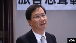公民黨立法會議員郭家麒。(美國之音湯惠芸)