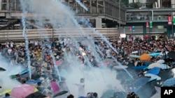 香港民主抗议活动