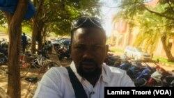 Karim Ouédraogo, commerçant, à Ouagadougou, 7 décembre 2018. (VOA/Lamine Traoré)