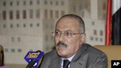 منتقلیِ اقتدار کے مذاکرات کے لیئے تیار ہوں: صدر عبداللہ صالح