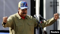 Nicolas Maduro, shugaban kasar Venezuela