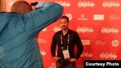 Aktor Oka Antara di acara Red Carpet film 'Killers' (Dok: Vena Annisa)
