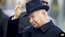 이슬람 카리모프 우즈베키스탄 대통령. (자료사진)