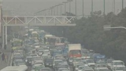هوای امروز تهران در شرایط ناسالم