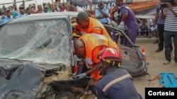 Acidente de viação causa nove mortos e 34 feridos na província angolana de Cabinda