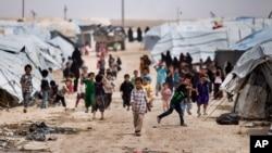 کمپ الهول، سوریه