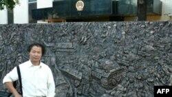 陈维明和他的天安门事件浮雕