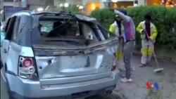 2014-10-28 美國之音視頻新聞: 伊拉克汽車炸彈爆炸 34人喪生