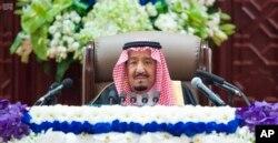 살만 사우디 국왕.