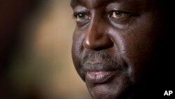 L'ex-président centrafricain François Bozizé, le 8 janvier 2013. (AP Photo/Ben Curtis)