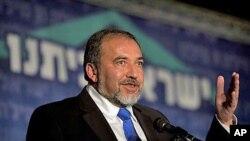 اسرائیل کے وزیرخارجہ ایوگوڈر لائبرمین (فائل فوٹو)