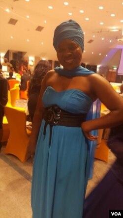 Omunye wabahambe emkhosini weBiper Awards eLondon.