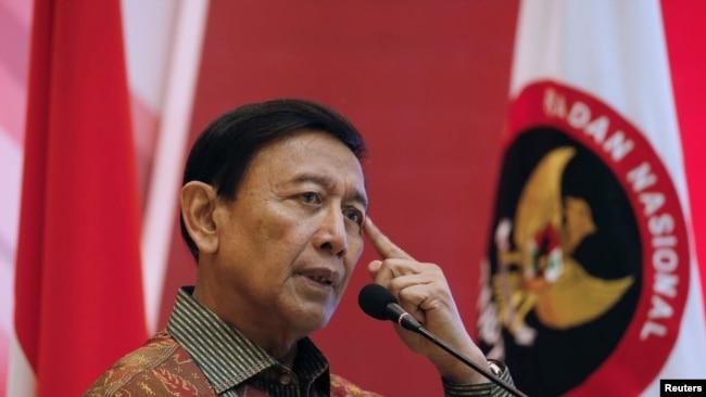 Wiranto di Jakarta, 28 Februari 2018. (Foto: dok).