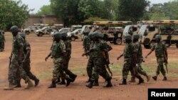 Sojoji daga Lagos, daga cikin sojoji 1000, da aka tura zuwa Adamawa domin yakar 'ya'yan kungiyar Boko Haram