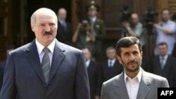 Александр Лукашенко и Махмуд Ахмадинежад