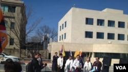 北京駐華盛頓大使館(資料照片)