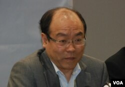 民協立法會議員馮檢基表示,泛民爭取普選沒有分裂的條件