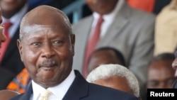 Le président ougandais Yoweri Museveni, 5 novembre 2015.