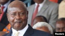 Le président ougandais Yoweri Museveni, Dar es Salaam, le 5 novembre 2015.