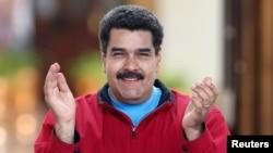 FILE - Venezuelan leader Nicolas Maduro.