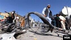 افغانستان: سائیکل بم