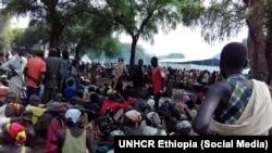 Des réfugiés sud-soudanais arrivant en Ethiopie. (Archives)
