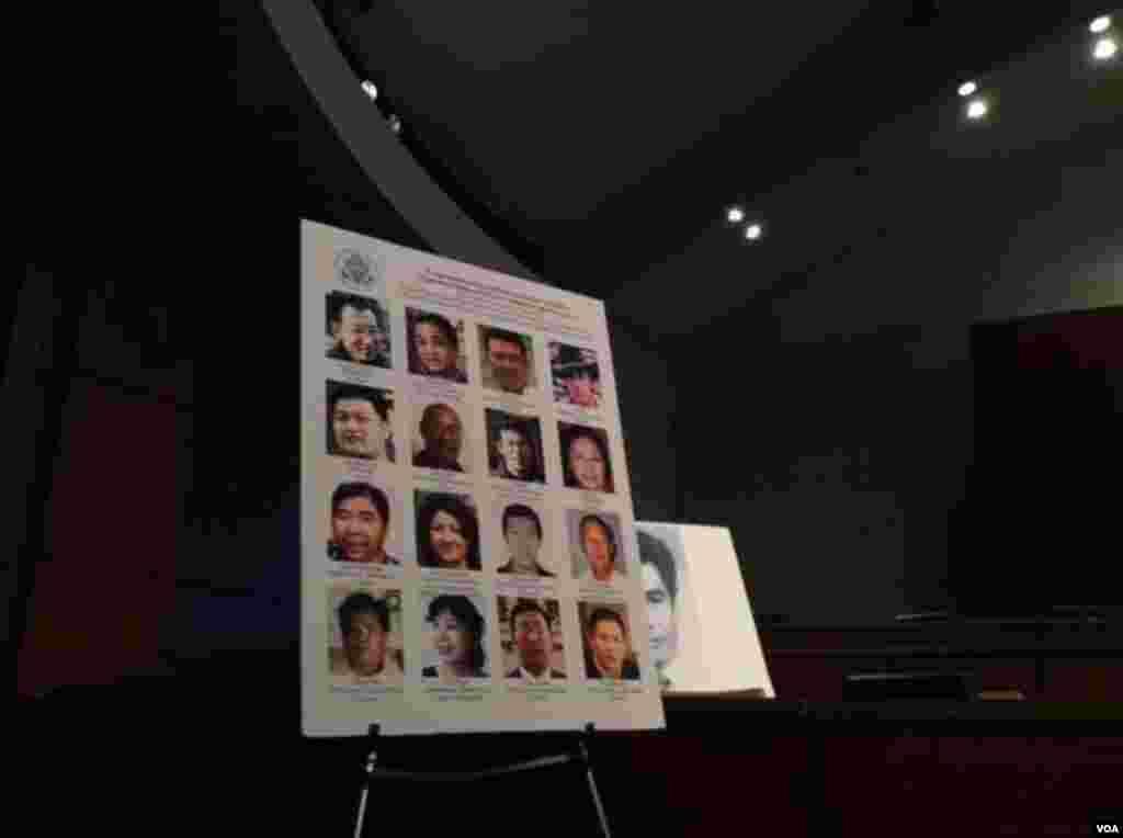 公民力量创始人杨建利说国会应通过一个中国民主法案,明确阐述美国的立场(美国之音杨晨拍摄)