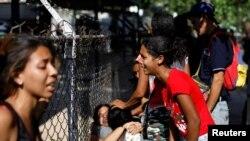 خانواده قربانیان شورش بازداشتگاه