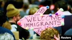 Акция против ужесточения иммиграционных правил