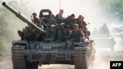 Çeçenistan dağlarında 4 rus əsgəri öldürülüb