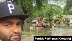 Patrick Rodrigues, imigrante cabo-verdiano
