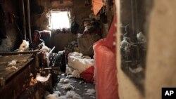 Afg'onistonlik ishchi paxta yigirmoqda, 9-fevral, 2016-yil
