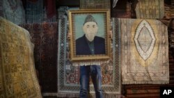نقاشی حامد کرزی
