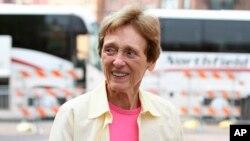 Joan Mondale, esposa del exvicepresidente Walter Mondale, falleció ayer a la edad de 83 años.