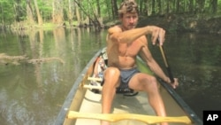 TrekEast takes John Davis through Congaree National Park, South Carolina on his campaign to connect wildlife habitat in the eastern United States and Canada.