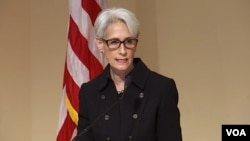 Wendy Sherman is the U.S. negotiator at talks with Iran.
