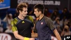 Murray y Djokovic volverán a enfrentarse en una final de Grand Slam, como la que disputaron en enero en Australia con triunfo del serbio.