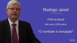 """Rodrigo Janot: """"Não há recuo no Brasil na luta contra a corrupção"""