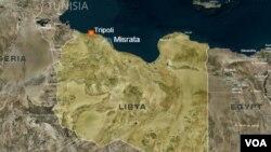 Peta wilayah Libya (foto: dok).
