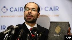 کونسل آن امریکن اسلامک ریلیشنز کے ایگزیکٹیو ڈائریکٹر نھاد عوض۔ فائل فوٹو