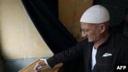 На избирательном пункте. Каир. Египет. 5 декабря 2010 года