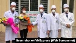 Wata mai cutar coronavirus da aka fara sallama ta farko a Vietnam