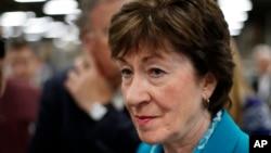 Senator partai Republik dari negara bagian Maine, Susan Collins (foto: dok).