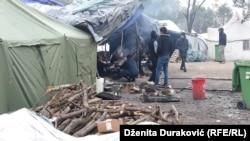 Bosnia and Herzegovina - Migrants at the Vucjak Reception Camp near Bihac. 10. October 2019.