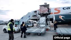 AstraZeneca-ს ვაქცინა თბილისის აეროპორტში