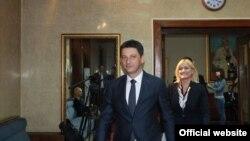 Darko Pajović i Azra Jasavić (foto: rtcg.me)
