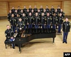 美国陆军乐队合唱团