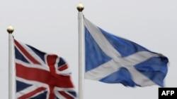 Британський і шотландський прапори