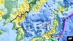 وقوع زلزلۀ نیرومند در جاپان