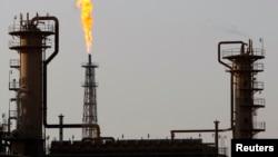 FILE - Baiji oil refinery, 180km (112 miles) north of Baghdad.